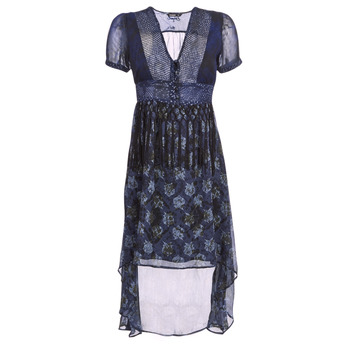 material Women Long Dresses Desigual MINALI Blue