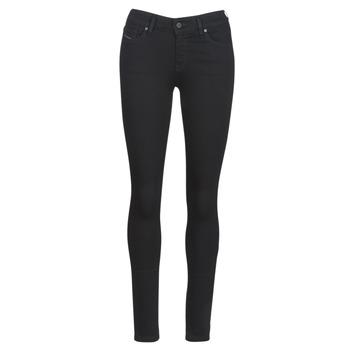 material Women Skinny jeans Diesel SLANDY Black