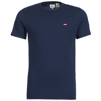 material Men short-sleeved t-shirts Levi's SS ORIGINAL HM TEE Marine