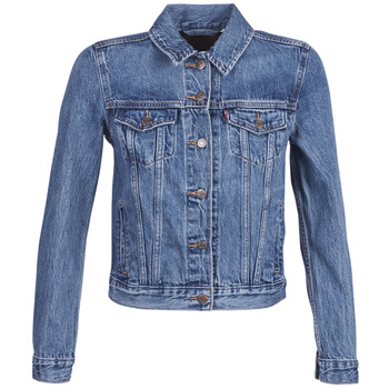 material Women Denim jackets Levi's ORIGINAL TRUCKER Blue / Medium