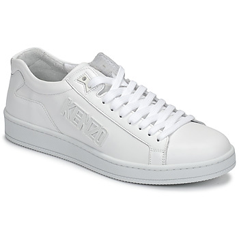Shoes Men Low top trainers Kenzo TENNIX White