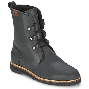 Shoes Women Mid boots Lacoste BAYLEN 4 Black
