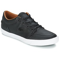 Shoes Men Boat shoes Lacoste BAYLISS VULC PREMIUM Black