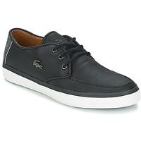 Shoes Men Boat shoes Lacoste SEVRIN LCR 2 Grey