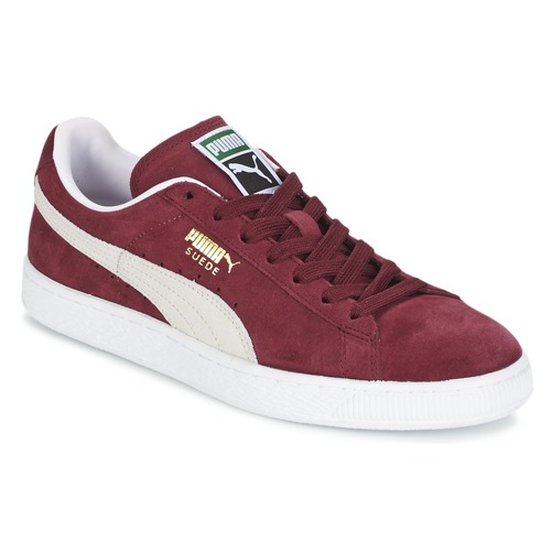 Shoes Low top trainers Puma SUEDE CLASSIC Bordeaux