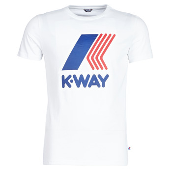 material Men short-sleeved t-shirts K-Way PETE White