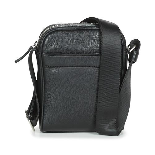 Bags Men Pouches / Clutches Le Tanneur CHARLES Black