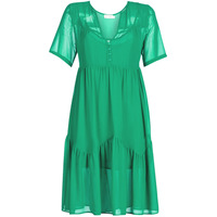 material Women Short Dresses See U Soon GARAGACE Green