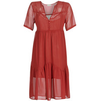 material Women Short Dresses See U Soon GARAGACE Red