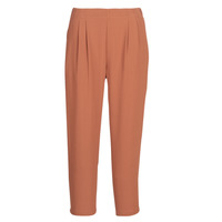 material Women Wide leg / Harem trousers See U Soon GARAGACI Ocre tan
