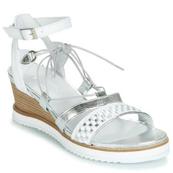 Shoes Women Sandals Regard RAXAF V1 TRES ALFA BLANC White