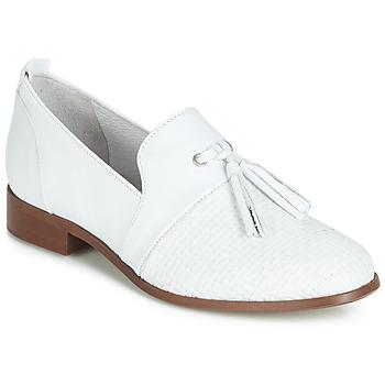 Shoes Women Derby shoes Regard REVA V1 TRES NAPPA BLANC White