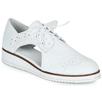 Shoes Women Derby shoes Regard RIXAMU V1 NAPPA BLANC Black