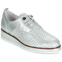 Shoes Women Derby shoes Regard RIXIZA V2 TRES METALCRIS PLATA Silver