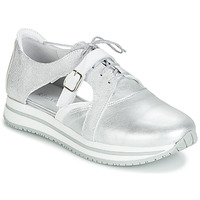 Shoes Women Low top trainers Regard RUPINO V2 METALCRIS ARGENT Silver