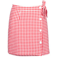 material Women Skirts Betty London KRAKAV Red / White