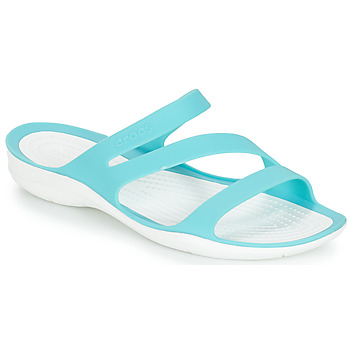 Shoes Women Tap-dancing Crocs SWIFTWATER SANDAL W Blue