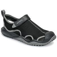 Shoes Men Sports sandals Crocs SWIFTWATER MESH DECK SANDAL M Black