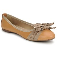 Shoes Women Ballerinas StylistClick LUNA Brown