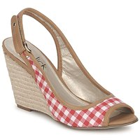Shoes Women Sandals StylistClick INES Jude / Natural / Red