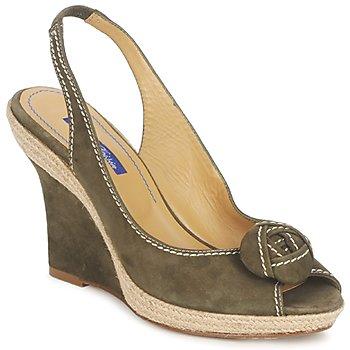 Sandals Atelier Voisin ALIX KAKI 350x350