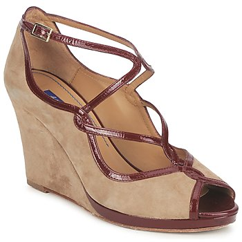Shoes Women Court shoes Atelier Voisin RACHEL Taupe