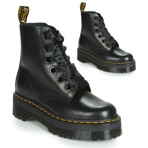Shoes Women Mid boots Dr Martens Molly Black