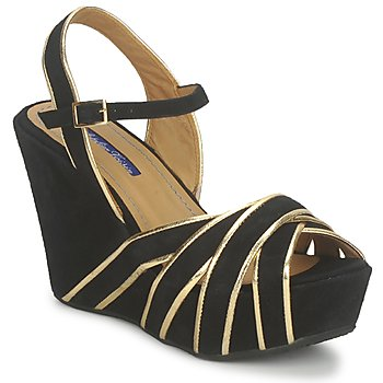 Shoes Women Sandals Atelier Voisin FACTOR Black