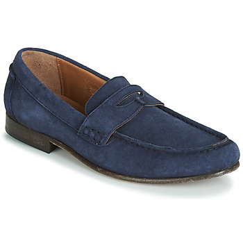 Shoes Men Loafers Hudson SEINE Blue