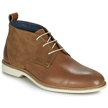Shoes Men Mid boots Casual Attitude JALAYAPE Brown