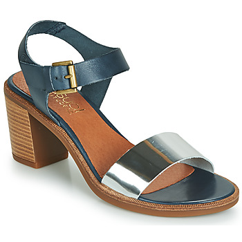 Shoes Women Sandals Casual Attitude JALAYEVE Blue / Silver