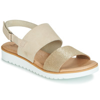 Shoes Women Sandals Casual Attitude JALAYEPE Beige / Iris