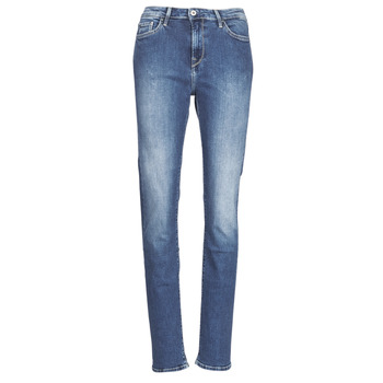 material Women straight jeans Pepe jeans ALEXA Blue / Medium