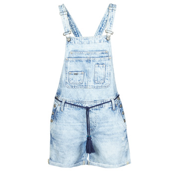 material Women Jumpsuits / Dungarees Pepe jeans ABBY Blue
