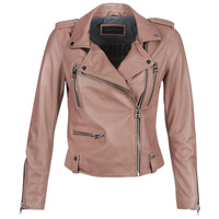 material Women Leather jackets / Imitation leather Oakwood NIGHT Old / Pink