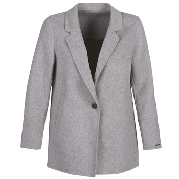 material Women Jackets / Blazers Oakwood OSLO Grey / Clear
