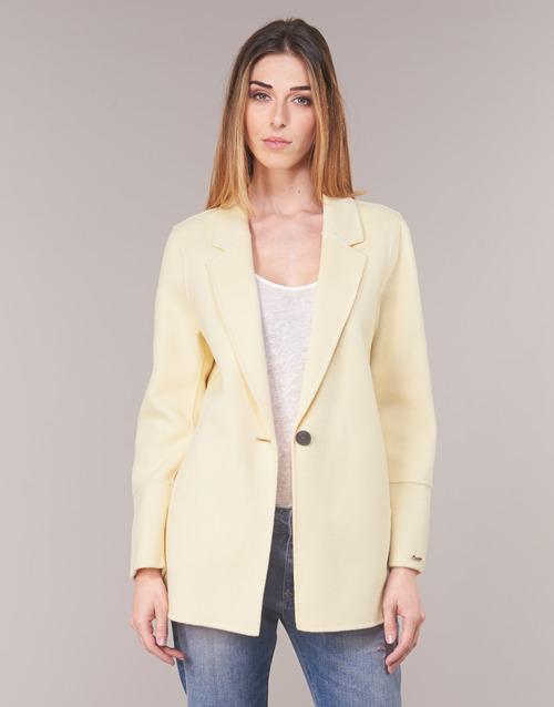 material Women Jackets / Blazers Oakwood OSLO Yellow / Clear