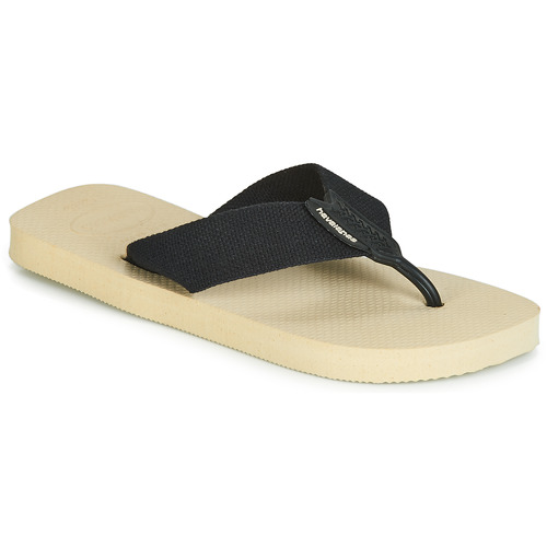 e82e7086c Havaianas URBAN BASIC Beige - Fast delivery with Spartoo Europe ...