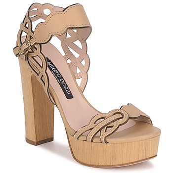 Shoes Women Sandals Alberto Gozzi TOBIA LINOU BEIGE