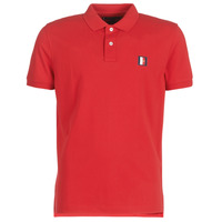 material Men short-sleeved polo shirts Tommy Hilfiger ICON MINI BADGE REGULAR POLO Red