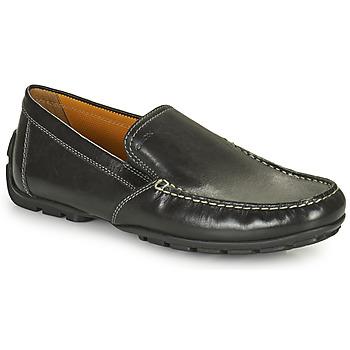 Shoes Men Loafers Geox MONET Black