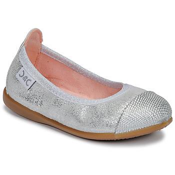 Shoes Girl Ballerinas Citrouille et Compagnie JARAMIL Silver