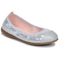Shoes Girl Ballerinas Citrouille et Compagnie JARAMIL Silver