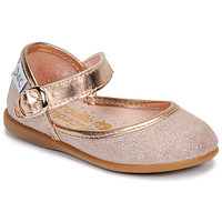 Shoes Girl Ballerinas Citrouille et Compagnie JARITO Pink / Bronze