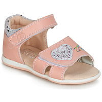Shoes Girl Sandals Citrouille et Compagnie JAFALGA Pink