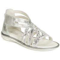 Shoes Girl Sandals Citrouille et Compagnie JAGAFA Silver
