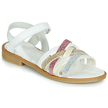 Shoes Girl Sandals Citrouille et Compagnie JARILOU White