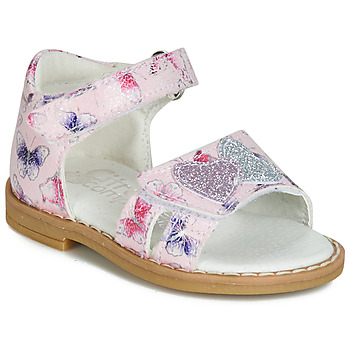 Shoes Girl Sandals Citrouille et Compagnie JARILOUTE Pink