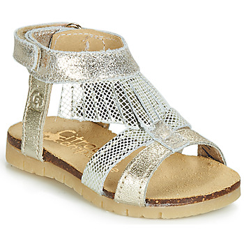 Shoes Girl Sandals Citrouille et Compagnie JARILOUTA Silver