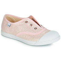 Shoes Girl Low top trainers Citrouille et Compagnie RIVIALELLE Pink / Metallic
